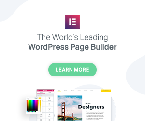 AD: Elementor: The World's Largest WordPress Page Builder