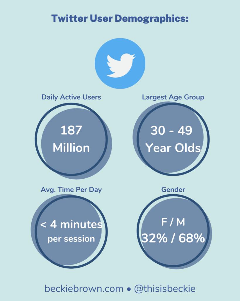 Infographic - Twitter Demographics